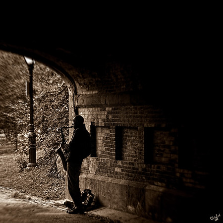 Central Park Sax Man