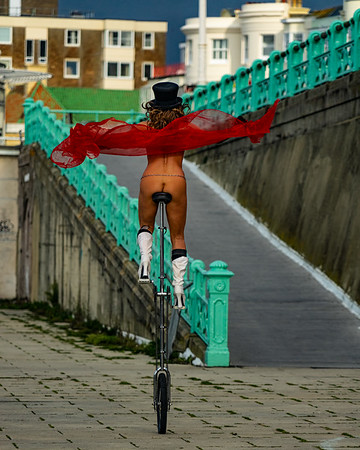 Morning Exercise On The Seafront