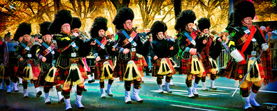 The Part Time Pipe Band!