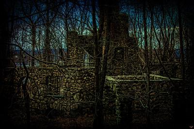 Cornish House Ruins