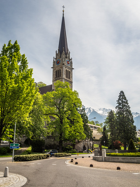St. Florin Cathedral, Vaduz