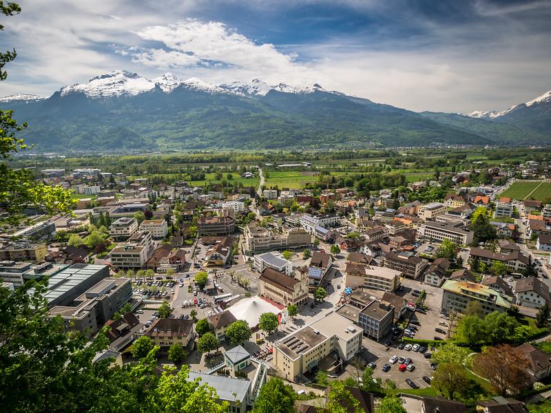 Vaduz Panorama, Liechtenstein