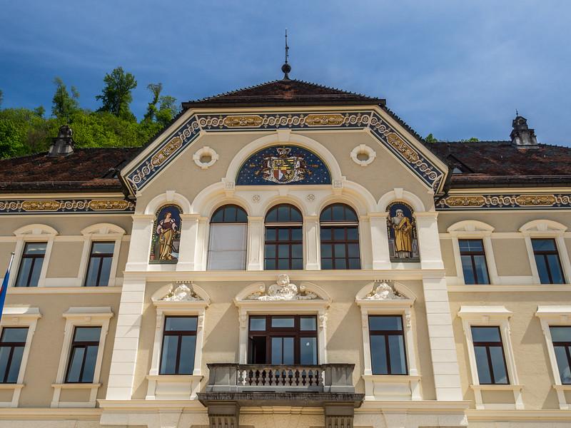 Museum Façade, Vaduz