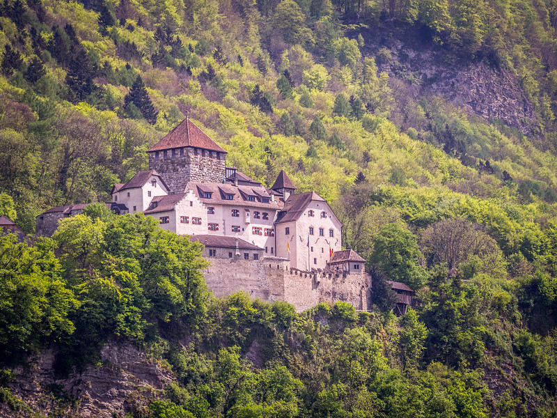 The Prince's Castle, Vaduz, Liechtenstein