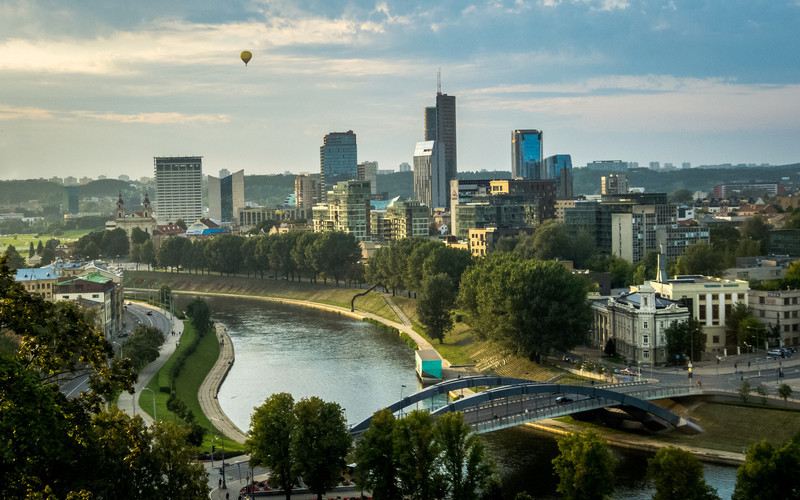 Ride Over Vilnius, Lithuania