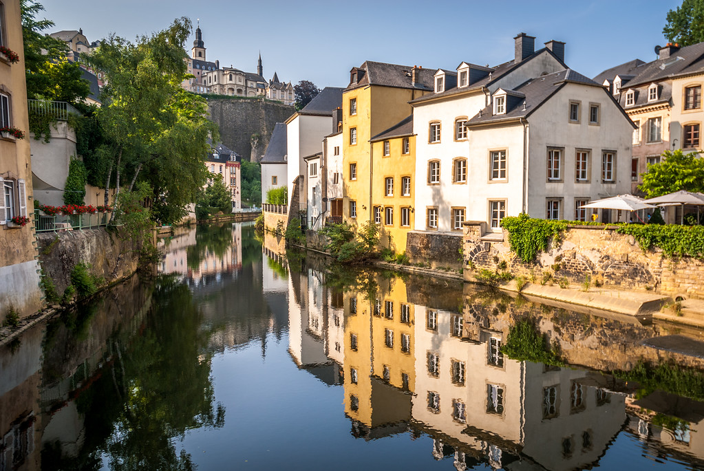 Reflections in the River, Luxembourg