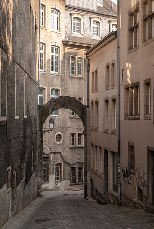 Arched Alleyway, Luxembourg