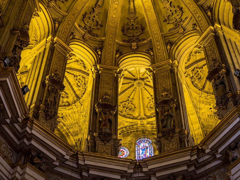 Saints Enshrined, Málaga Cathedral