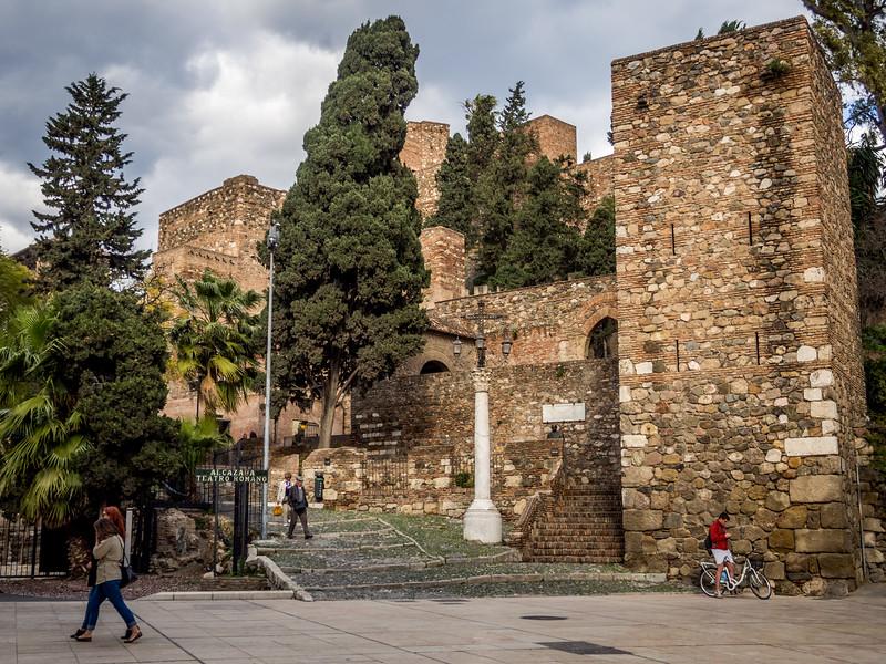 Entrance to Alcazaba, Málaga
