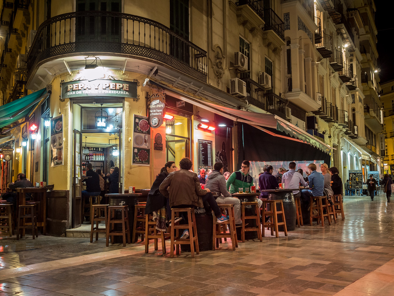 Out for Tapas, Málaga