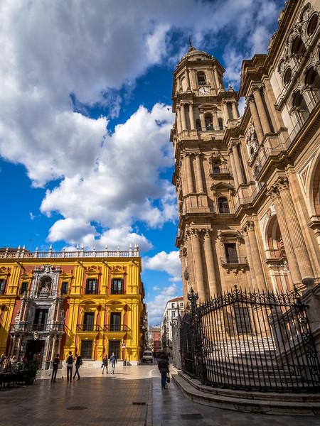 Cathedral Tower and Bishop's Palace, Málaga