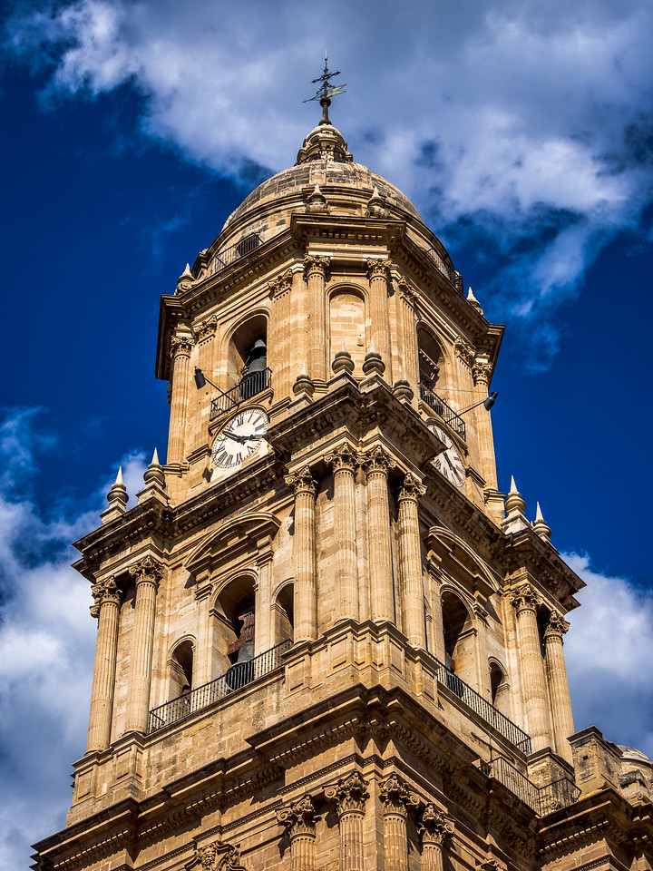 The Cathedral Tower, Málaga