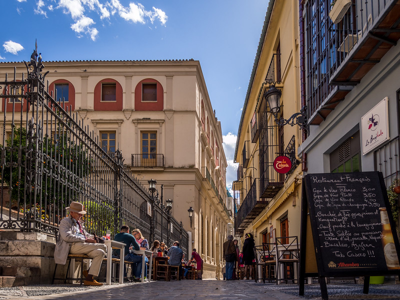 A Drink on the Sidewalk, Málaga
