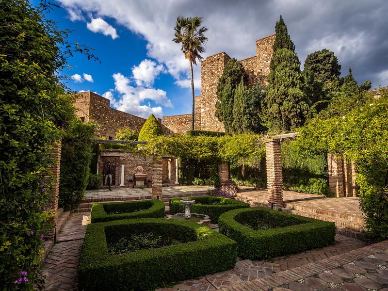 Garden of the Alcazaba, Málaga