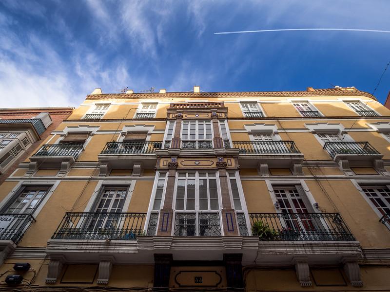 Morning Flight, Málaga, Spain
