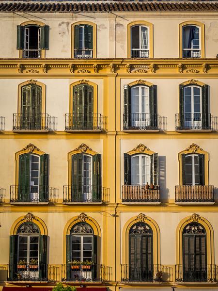 Shuttered Windows, Málaga