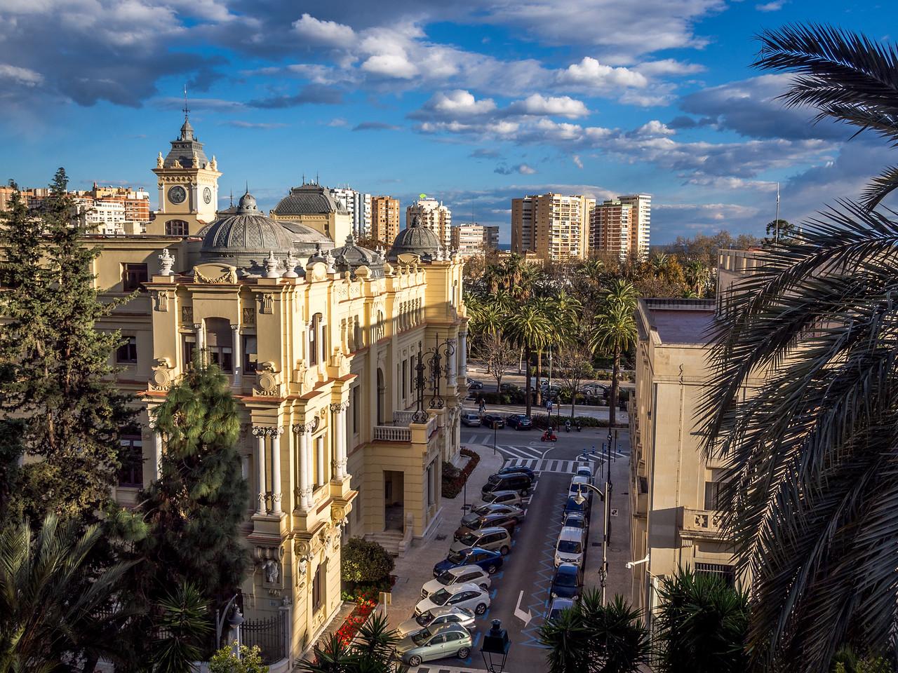 Ayuntamiento, Málaga, Spain