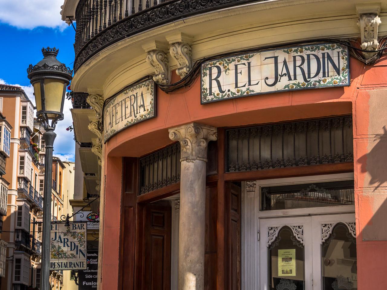 El Jardin, Calle Cister, Málaga