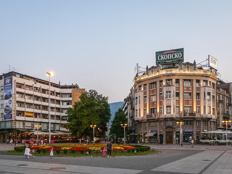 Plostad Macedonia, Skopje