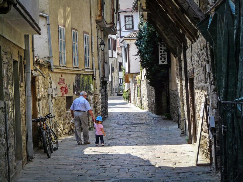 Morning Walk, Ohrid