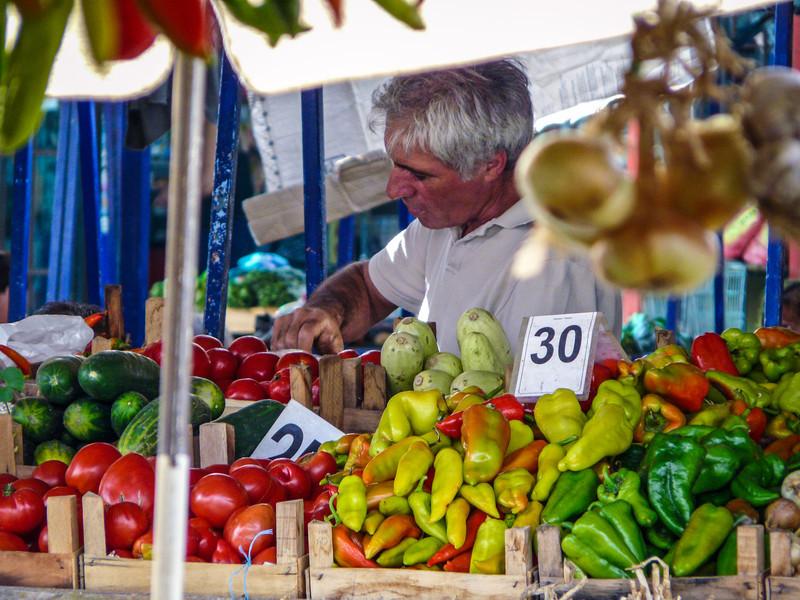 The Pepper Man, Ohrid Market