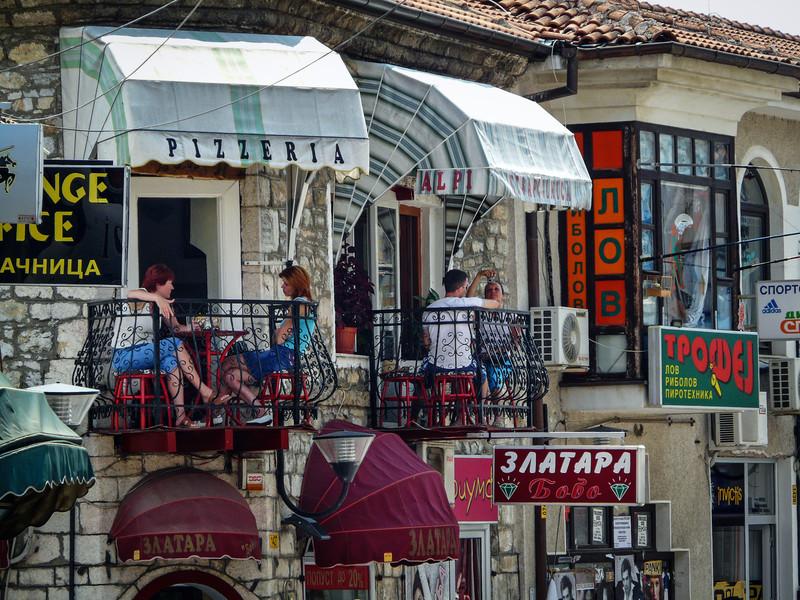 Balcony Scene, Ohrid