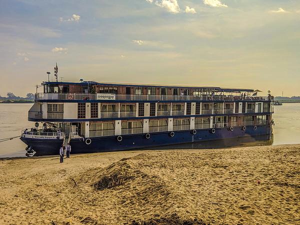 Irrawaddy River, Myanmar December 2018