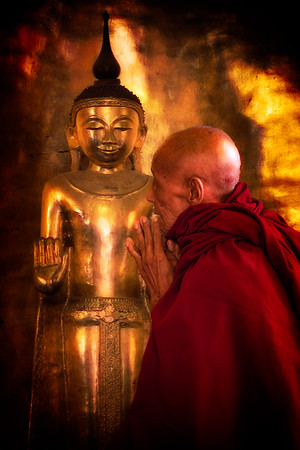 Mahagandhayon Monastery, Amarapura, Mandalay, Myanmar, December 2018