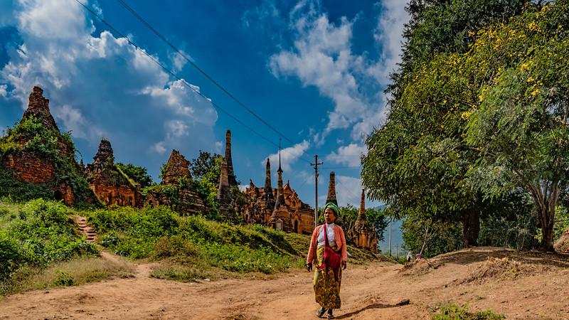 Nyaung Ohak, Myanmar, December 2018