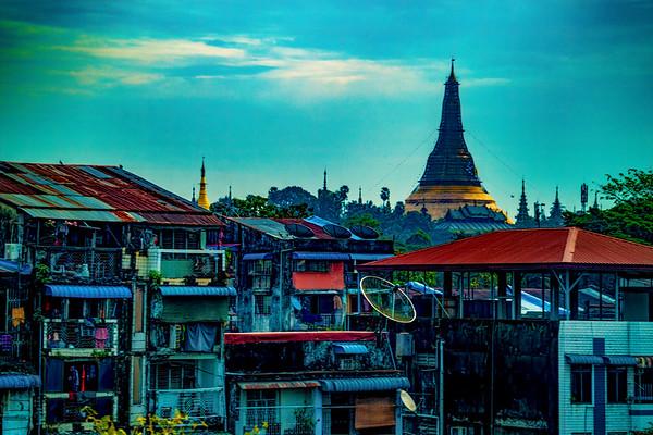 Yangon, Myanmar, December 2018
