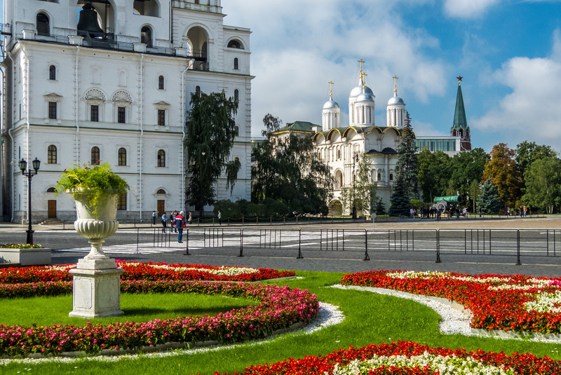 Kremlin Gardens and Patriarch's Palace, Moscow