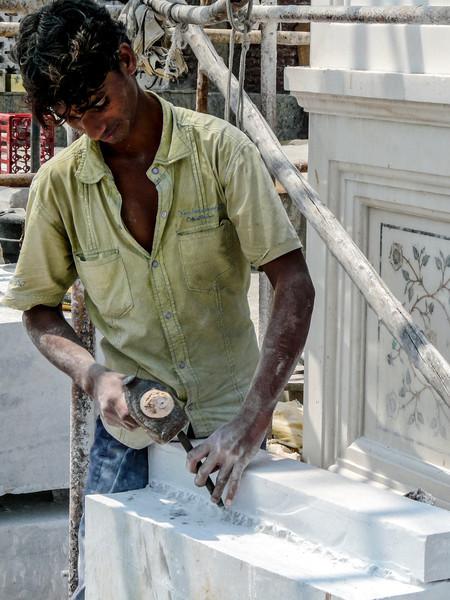 Stone Carving at Haji Ali's Mosque, Mumbai