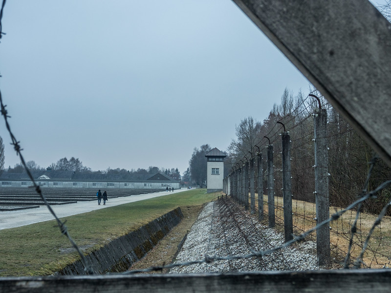 Winter at the Dachau Concentration Camp, Germany