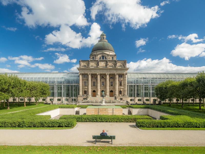 The Bavarian State Chancelory, Munich