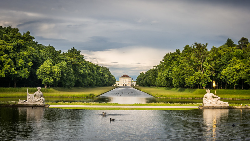 The Summer Palace and Park, Nymphenburg, Munich, Germany