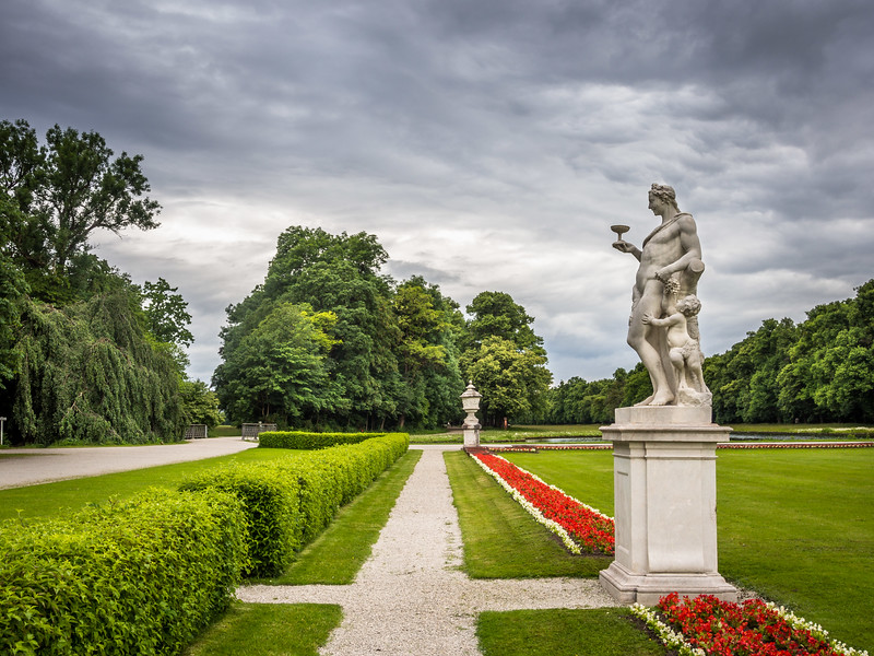 Bachus and Child, Nymphenburg Park, Munich, Germany