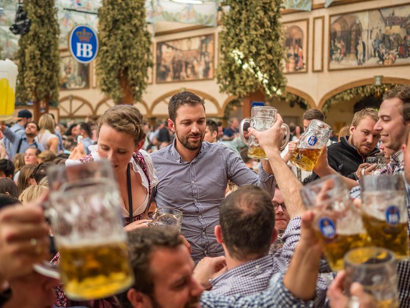 Ein Prosit, Ein Prosit, der Gemütlichkeit, Oktoberfest, Munich