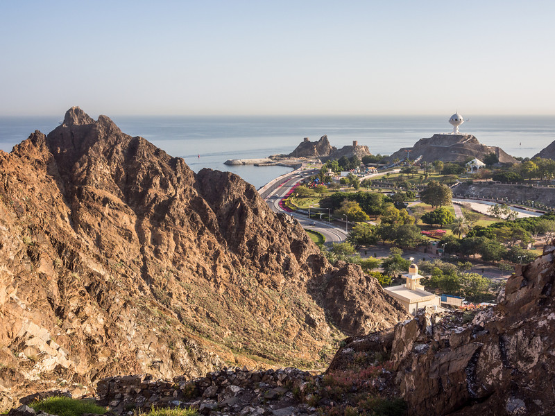 Along the Muscat Coast, Oman