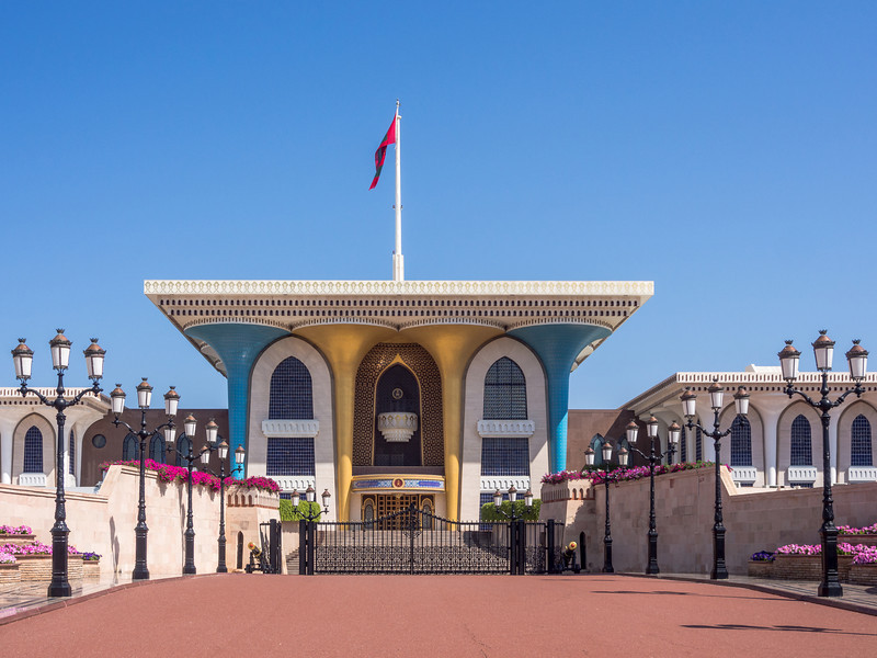 The Sultan's Palace, Muscat