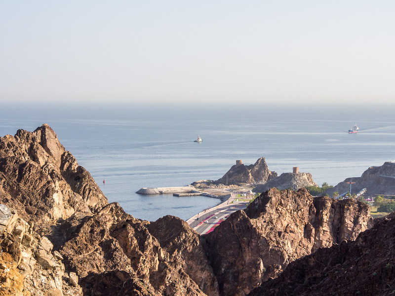 Arabian Sea View, Muscat