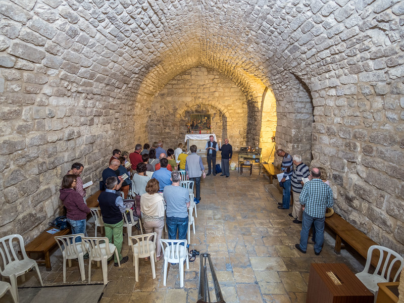 Inside Jesus's Synagogue, Nazareth