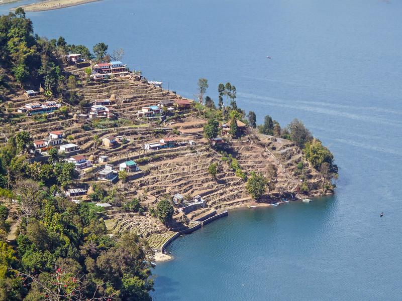 Terraces over the Lake, Pokhara