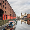 Reflections at the Albert Docks, Liverpool