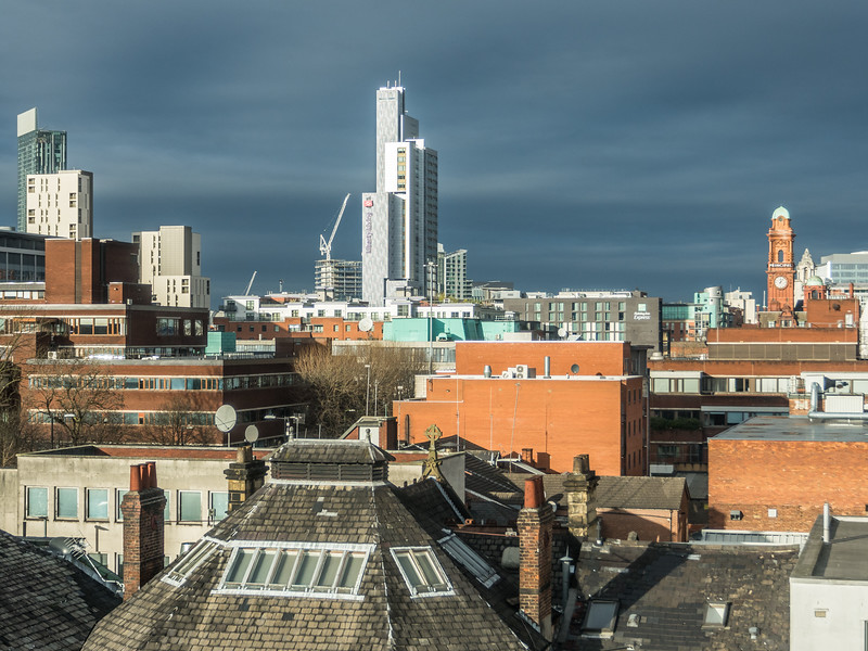 Manchester Skyline from the University District