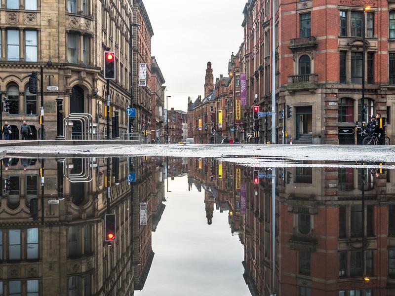 Princess Street Scene, Manchester
