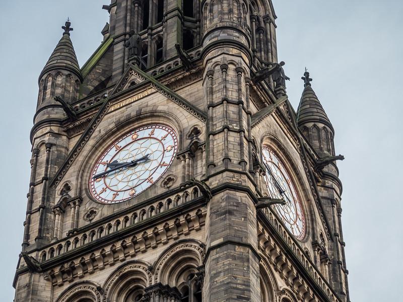 Town Hall Clocktower, Manchester