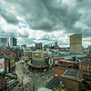 Cloudy Day over Manchester, England