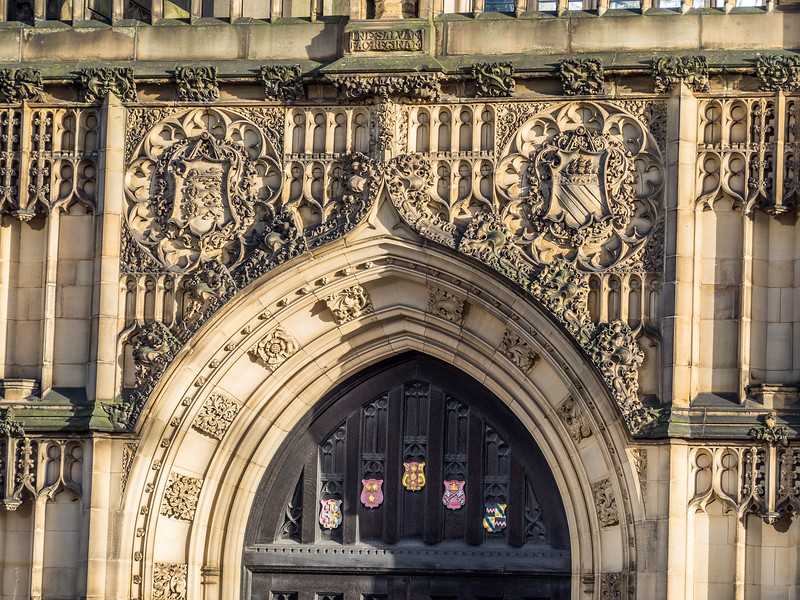 Gothic Reliefs upon the Manchester Cathedral