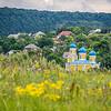 Trebujeni Church among the Hills, Moldova