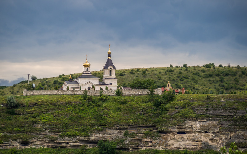 Dark Clouds over the Monastery, Orheiul Vechi, Moldova